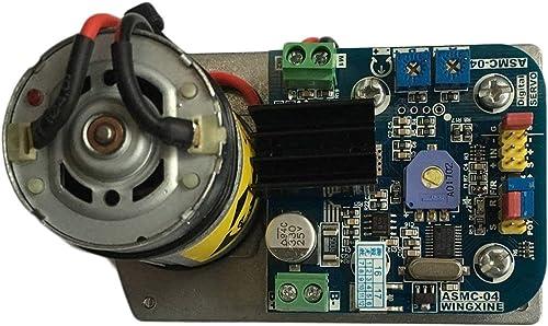 WOSOSYEYO 110 180   380kg.cm High Torque RC Servo DC12V 24V CW & CCW Schaltstahlgetriebe für Roboter mechanischen Arm ASME-04B (MultiFarbe)