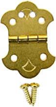 Cigar Box Guitar Brass Hinge Tailpiece for 4-String CBGs