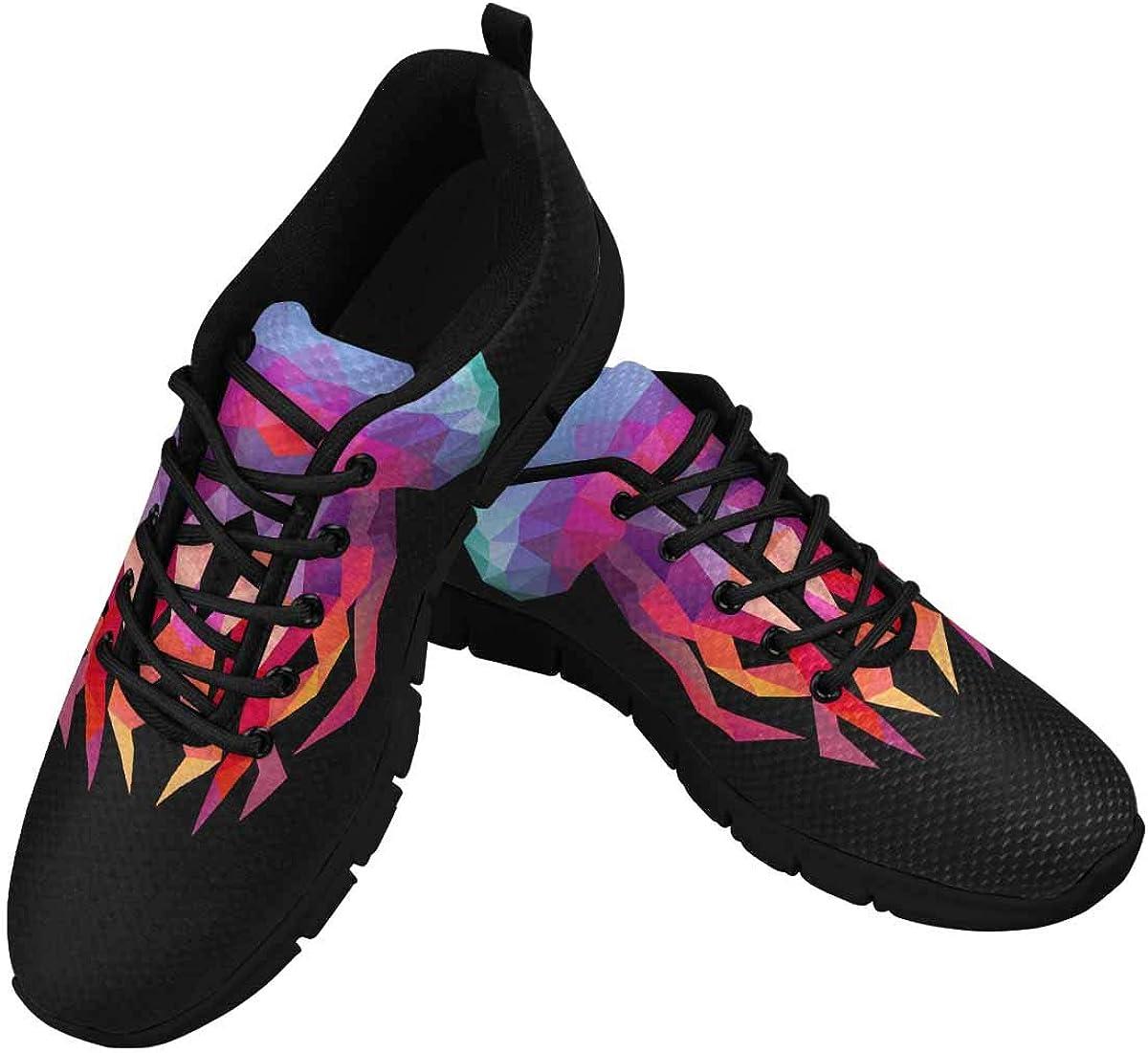 InterestPrint Abstract Jellyfish Women's Athletic Walking Shoes Breathe Comfort Mesh