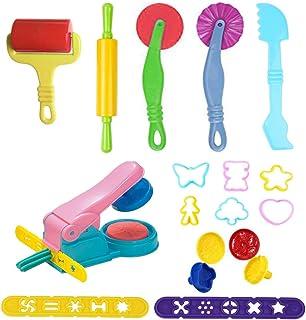 Herramientas de Plastilina, Biglion 12piezas Play-doh Modelos Juego de Herramientas de Pasta Arcilla