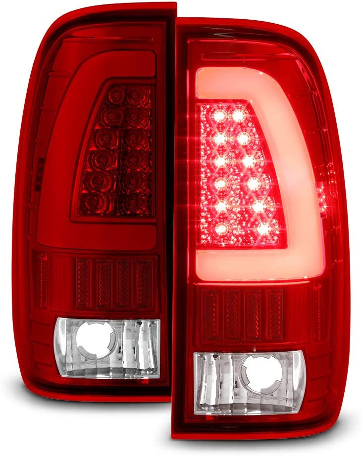 ACANII - For 1997-2003 Ford F-150 爆買いセール F-350 Red F-250 お得セット LED 1999-2007