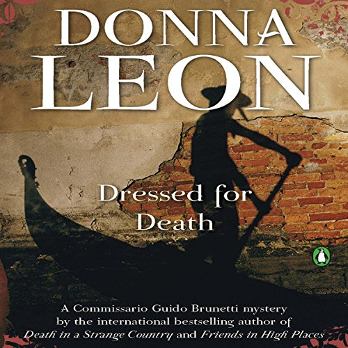 Dressed for Death audiobook cover art
