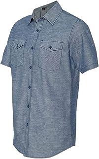 Cinch Travel Bag Chambray Short Sleeve Shirt Burnside