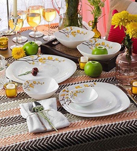 Pinkcity Emporium Dinner Set - 29 Pieces, Multicolour