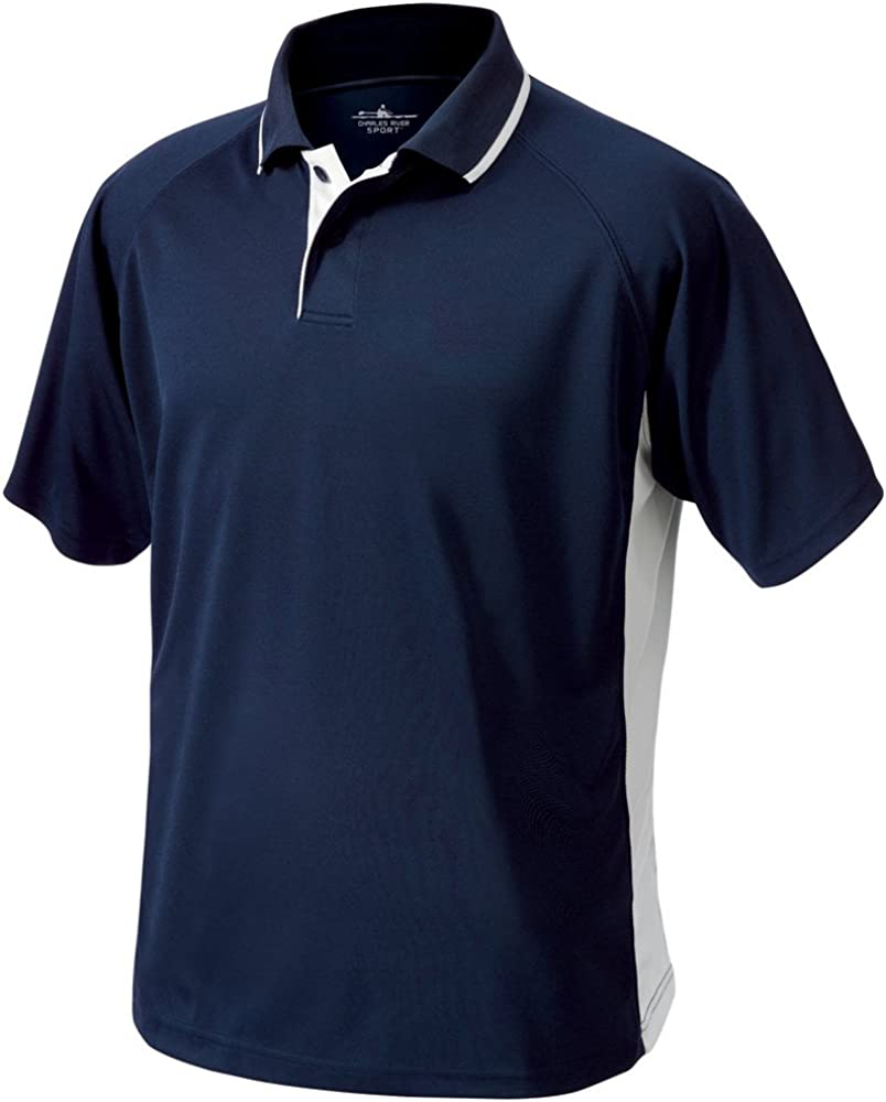 Charles River Apparel mens Classic Wicking Polo