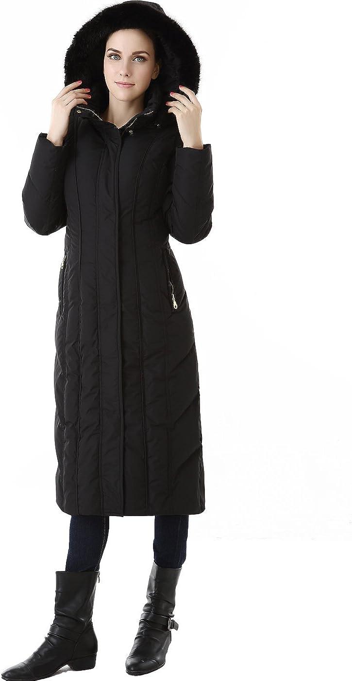 BGSD Women's Tabby Waterproof Hooded Maxi Down Coat (Regular and Plus)