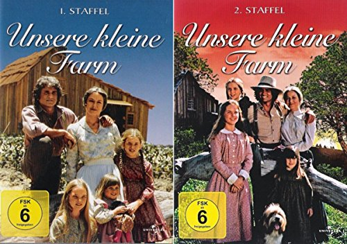 Unsere kleine Farm - Die komplette 1. + 2. Staffel (2-Boxen / 13-Disc)