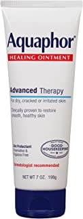 Aquaphor Healing Ointment Advanced Therapy Skin Protectant 7 oz (Pack of 4)