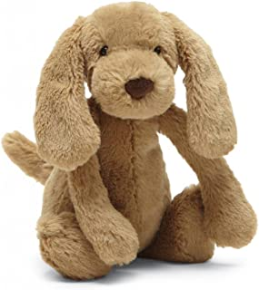 Jellycat Bashful Toffee Puppy Stuffed Animal, Small, 7 inches