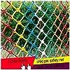 保護メッシュネット子供保護バルコニー安全色ナイロン装飾ネット子供秋保護子供ペット幼稚園ロープ(blue2x2m)