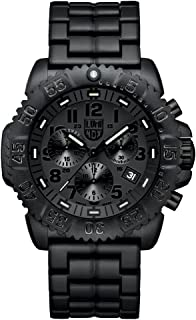 Luminox Men's 3082.BO Colormark Chronograph Analog Display Analog Quartz Black Watch
