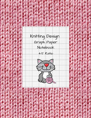 Knitting Design: Graph Paper Notebook, Blank Knitting Patterns Book, 4:5 Ratio