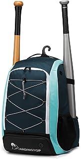 Mardingtop Softball Bag Youth Baseball Backpack, T-Ball & Softball Equipment & Gear for Youth & Adults | Holds Bat, Helmet...