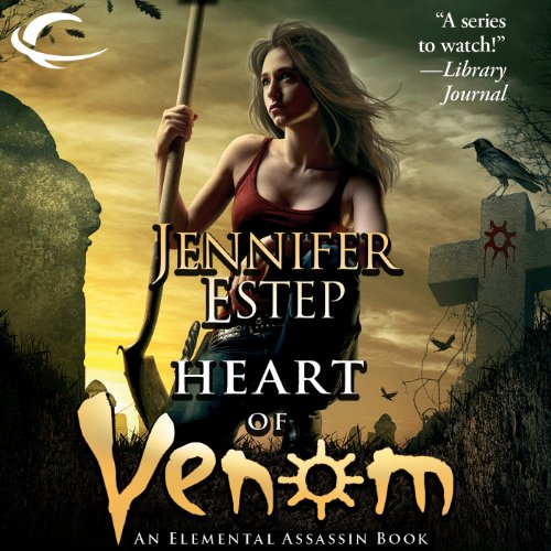 Heart of Venom audiobook cover art