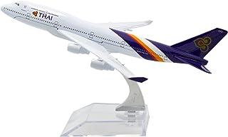 TANG DYNASTY 1/400 16cm タイ国際航空 Thai Airways ボーイング B747 高品質合金飛行機プレーン模型 おもちゃ