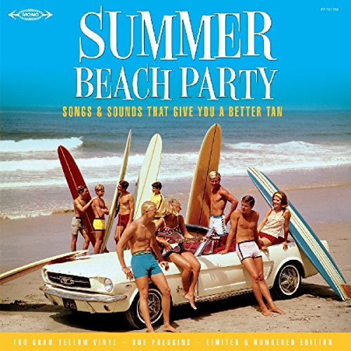 Summer Beach Party - LP 30cm Vinyle JAUNE 180 Grammes