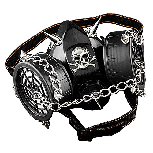 Main Color: black Style: steampunk size:one size (adjustbacle)