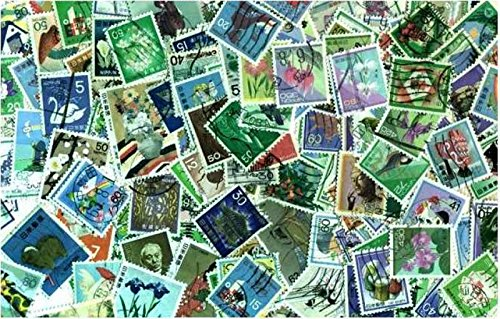 Japan Stamp Collection - 200 Different Stamps
