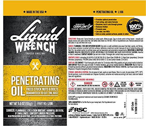 Liquid Wrench L106 Penetrating Oil, 5.5 Oz
