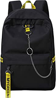 Mygreen Cool Girls School Backpacks For Middle School Student Backpack Bookbag Black&Yellow