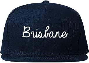 FASHIONISGREAT Brisbane Australia Script Chest Snapback Hat
