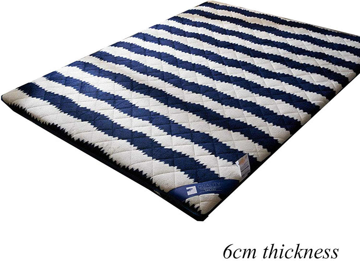 Flannel Tatami Floor Mat, Traditional Japanese Futon Bed Mattress Mat Topper Soft Sleeping Pad for Dorm Bedroom Home-b 100x200cm(39x79inch)