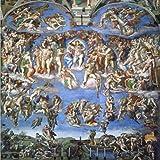NOVELOVE Wand-Kunst-Bilder Klassische Sixtinische Kapelle
