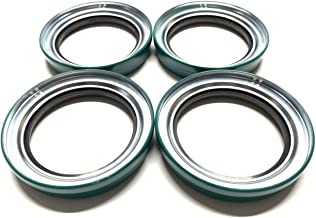 (Pack of 4) Trailer Wheel Unitized Oil Seals WPS (TM) CR27438 91030 Hayes #99 Spindle I.D. 2.750'' for 9K-10K lb. Axles
