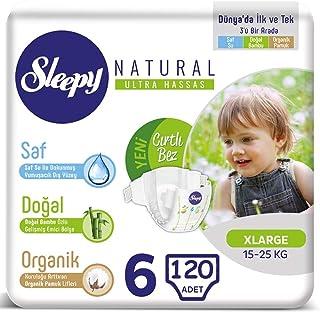 Sleepy Bebek Bezi 6 Beden 15-25 Kg (6 * 20) 120 Adet