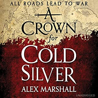 A Crown for Cold Silver audiobook cover art