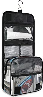 Shark Travel Hanging Toiletry Bag Cosmetics Pouch Makeup Package Shower Toiletries Organizer Bathroom Storage for Men or Women