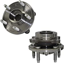 Detroit Axle - Pair Front Wheel Bearing & Hub Assembly Set - 2009-2016 Ford Flex - [2010-2016 Ford Taurus excluding SHO Models] - 2009-2016 Lincoln MKS - [2010-2016 Lincoln MKT]
