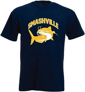 The Silo Navy Nashville Smashville Catfish T-Shirt