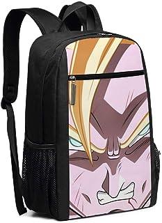 BUGKHD Mochila de viaje para portátil con diseño de Dragon Ball College y bolsa de ordenador para mujer y hombre