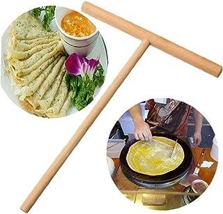 Special Crepe Maker Pannkakssmet Wooden Spreader Stick Home Kitchen Tool Restaurant Canteen Supplies