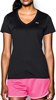 Under Armour Women's Tech V-Neck Short Sleeve T-Shirt
