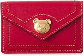 Luxury Fashion   Moschino Womens A811180060116 Red Wallet   Fall Winter 19