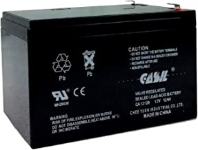 CASIL 12v 12ah F2Sealed Lead Acid AGM Rechargeable Deep Cycle Battery