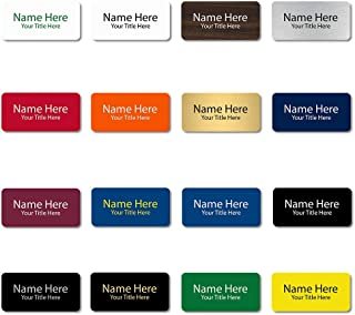 Custom Engraved Name Tags (Rounded Corner, 1.5