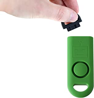 B A S U eAlarm+ with Tripwire Hook, Emergency Personal Alarm, Battery Included, Carabiner Included, Ranger Green