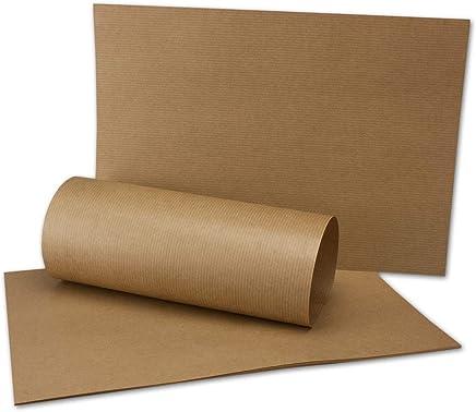 Lot de 100 cartes de papier kraft format A4 couleur marron naturel 210 x 297 mm 250 g//m2 papier recycl/é 100/% /écologique de votre agenda Gl/üxx.