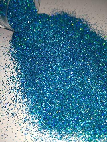 Nail Trust Gilter Nashville-Davidson Mall Art 1 Jar 5g Blue Glitter Powd Holographic Ligh