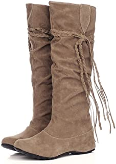 Fauean Women Shoes Clearence Luluzanm Women Heighten Platforms Thigh High Tessals Boots Motorcycle Shoes