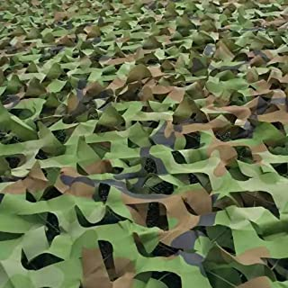 Image of KDDFN Camouflage Net,Sunshade Nets,Oxford Cloth,for Military,Army,Outdoor Activities,Camping,Hunting,Shooting,Tent,Hide,Umbrella,Scene Background,Photography,Home Decoration