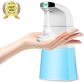 Detsnik Automatic Soap Dispenser, Touchless Foam Hand Soap Dispenser Upgraded, 310ml/10.48oz Waterproof Infrared Sensor Foaming Soap Dispenser, Used in Bathroom Kitchen Office Restroom