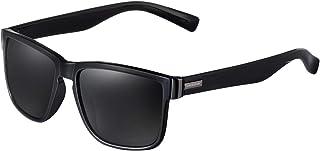 Square Polarized Sunglasses for Men and Women New Retro...