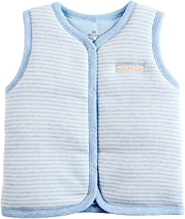 Baby Cotton Warm Vests Unisex Infant to Toddler Padded Waistcoat