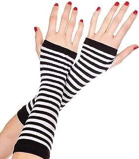 Women's Opaque Stripes Arm Warmer