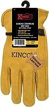 Kinco++Men%27s++Indoor%2fOutdoor++Driver+Gloves++Gold++XL++1+pair