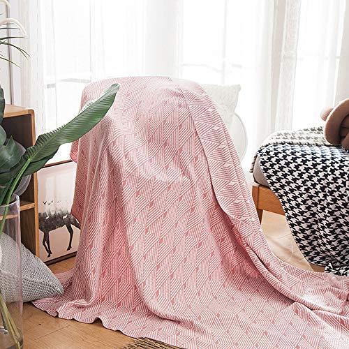 Manta de sofá grande, manta de microfibra cálida y suave de punto con borla de algodón peinado superior, estilo nórdico, manta de regalo para cama y sofá